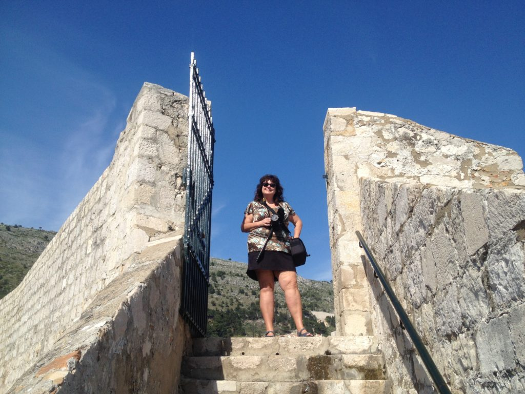 On the Wall of Dubrovnik.