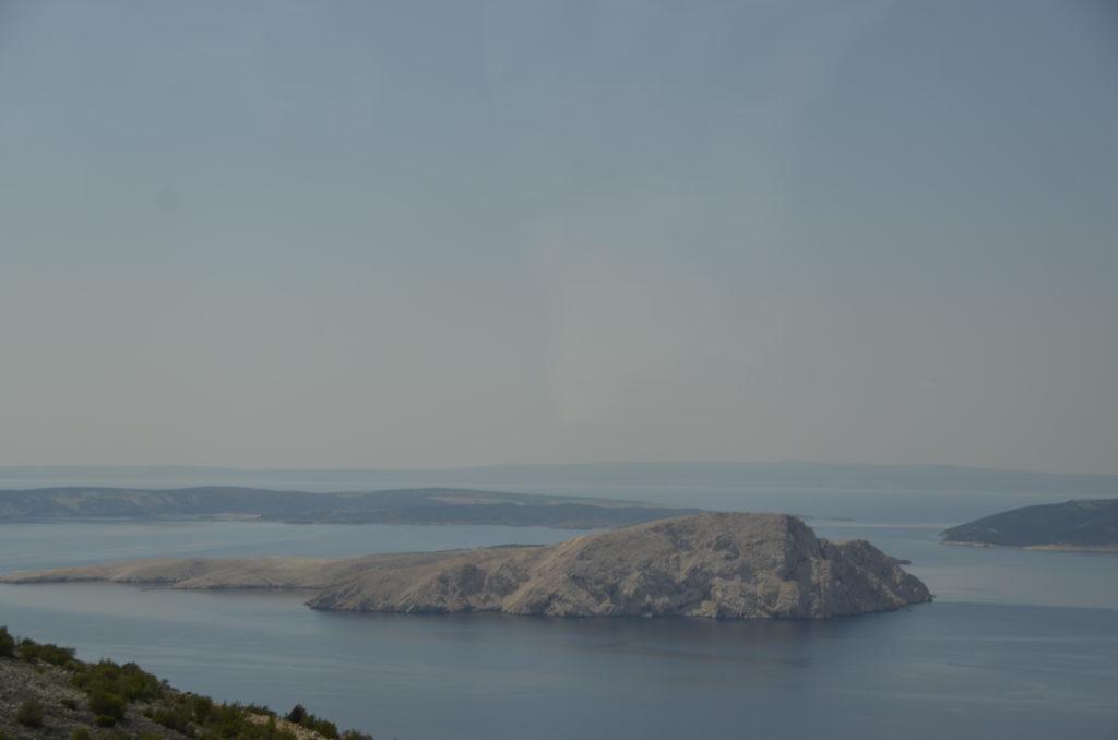 One of many landforms along the coastline