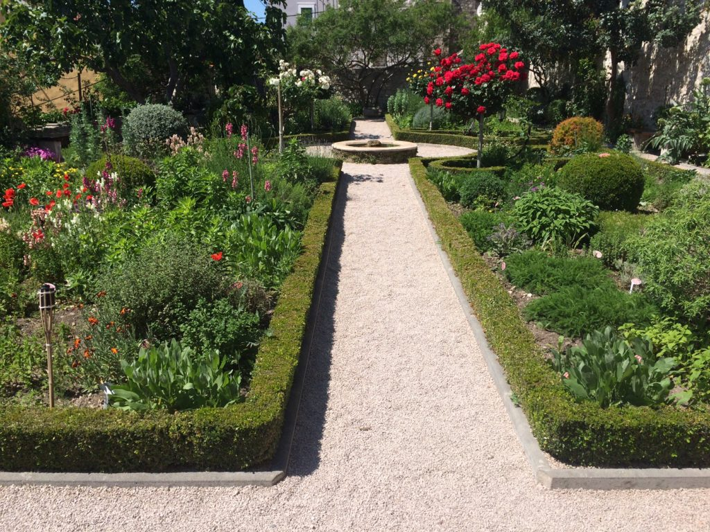 Medieval Mediterranean Garden of St Lawrence Monastery