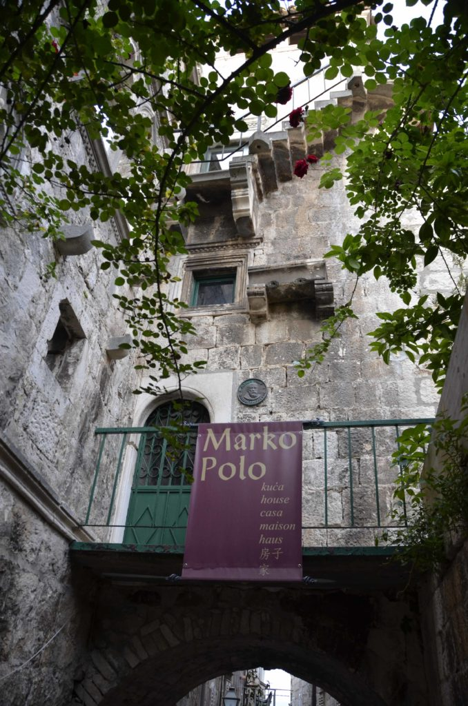 Marco Polo's birth house. Not much of the original house remains but the tower.