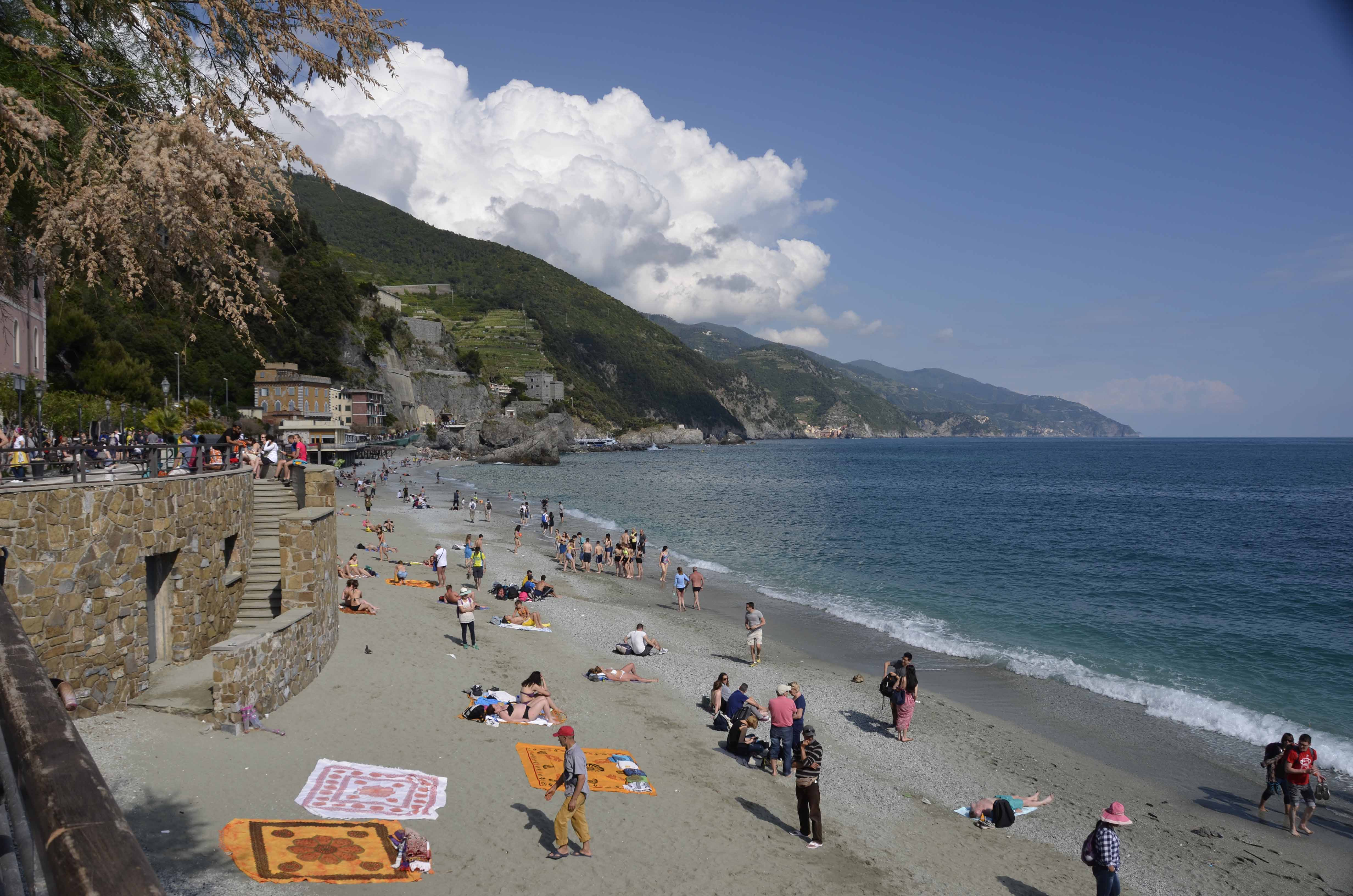 Playground by the sea, family-friendly Monterosso al Mare
