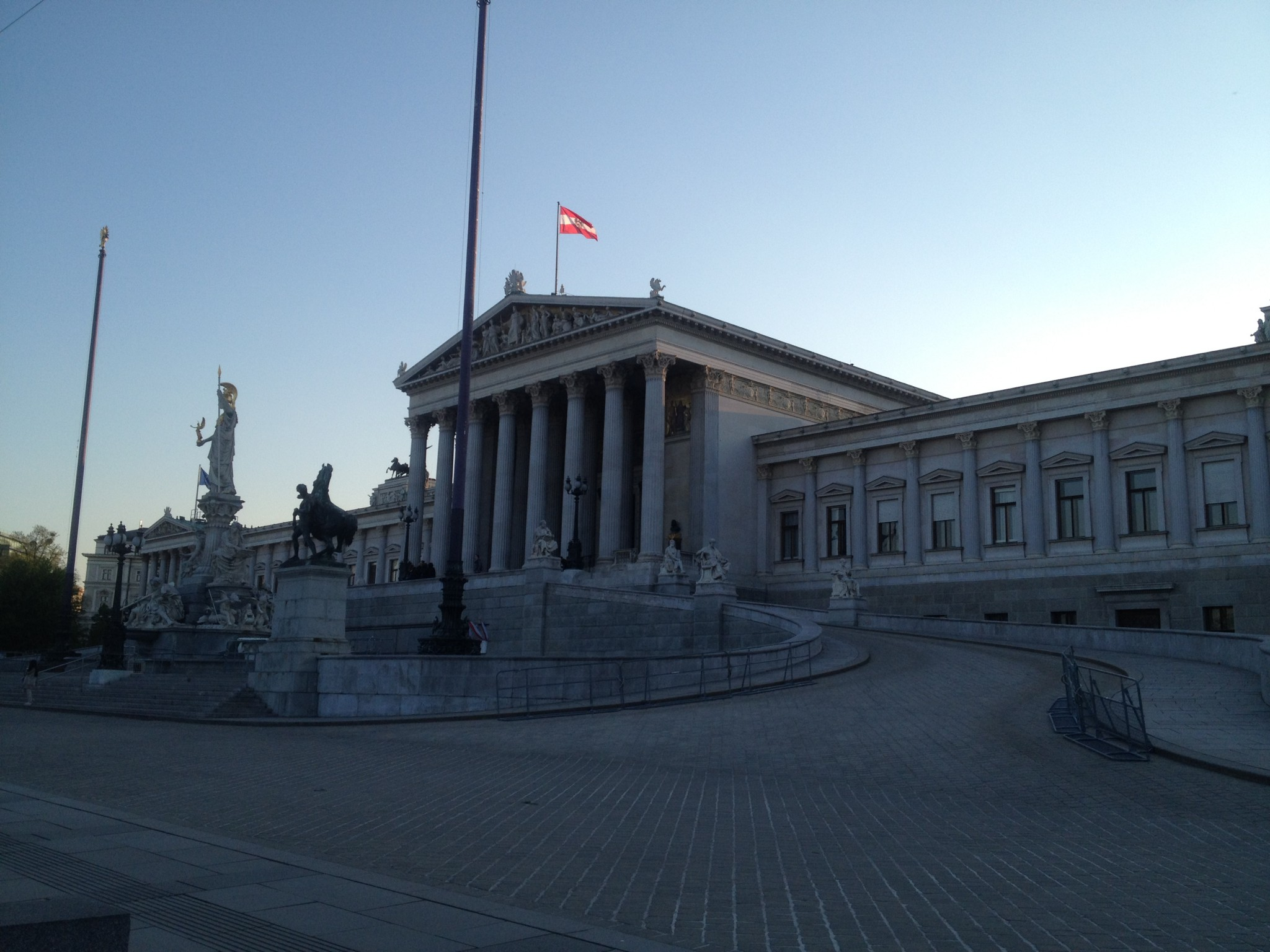 Greek-Roman style adorn this marvel; the Parliament Building.