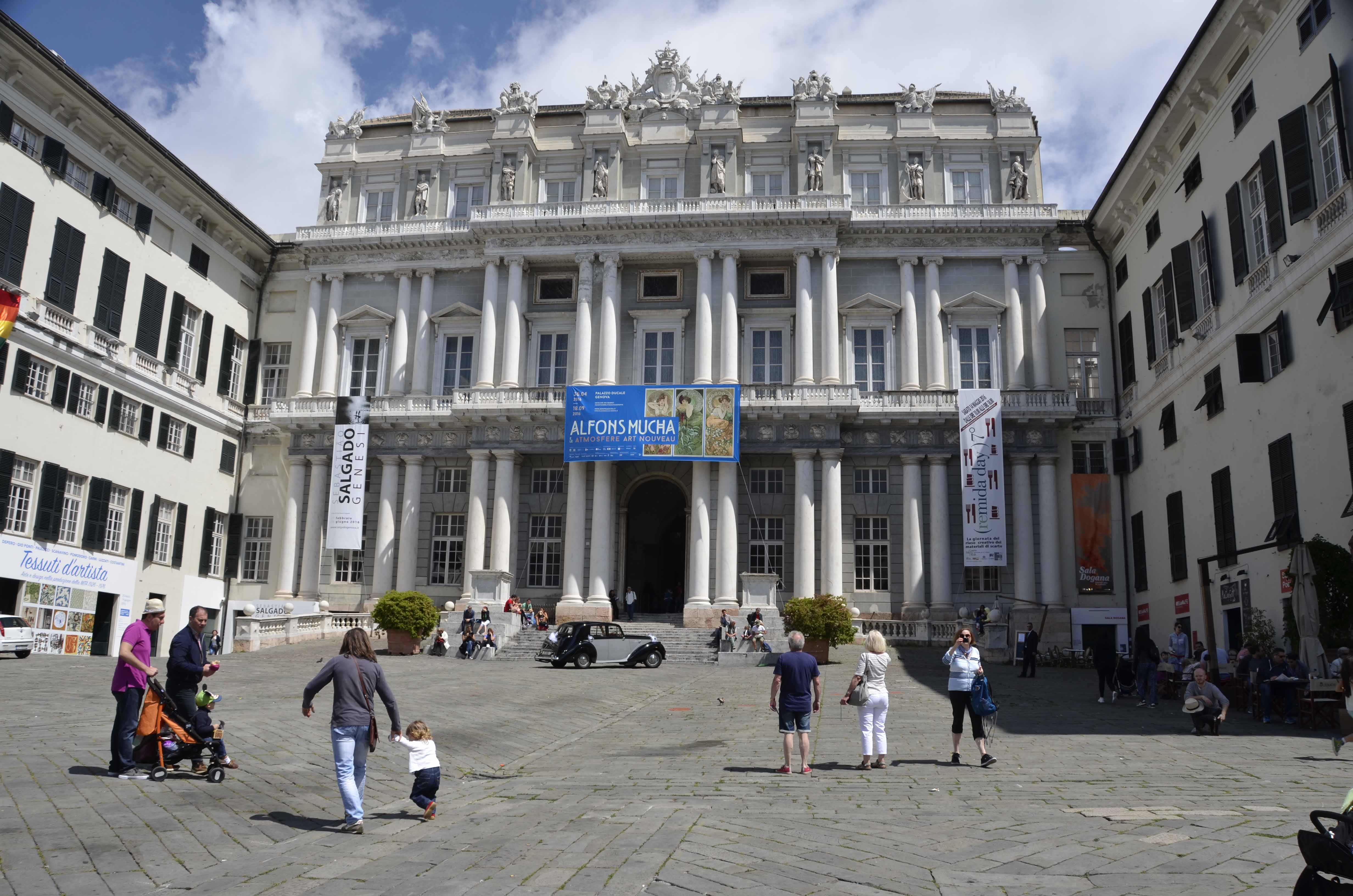 Palazzo Ducale is now a arts and cultural centre