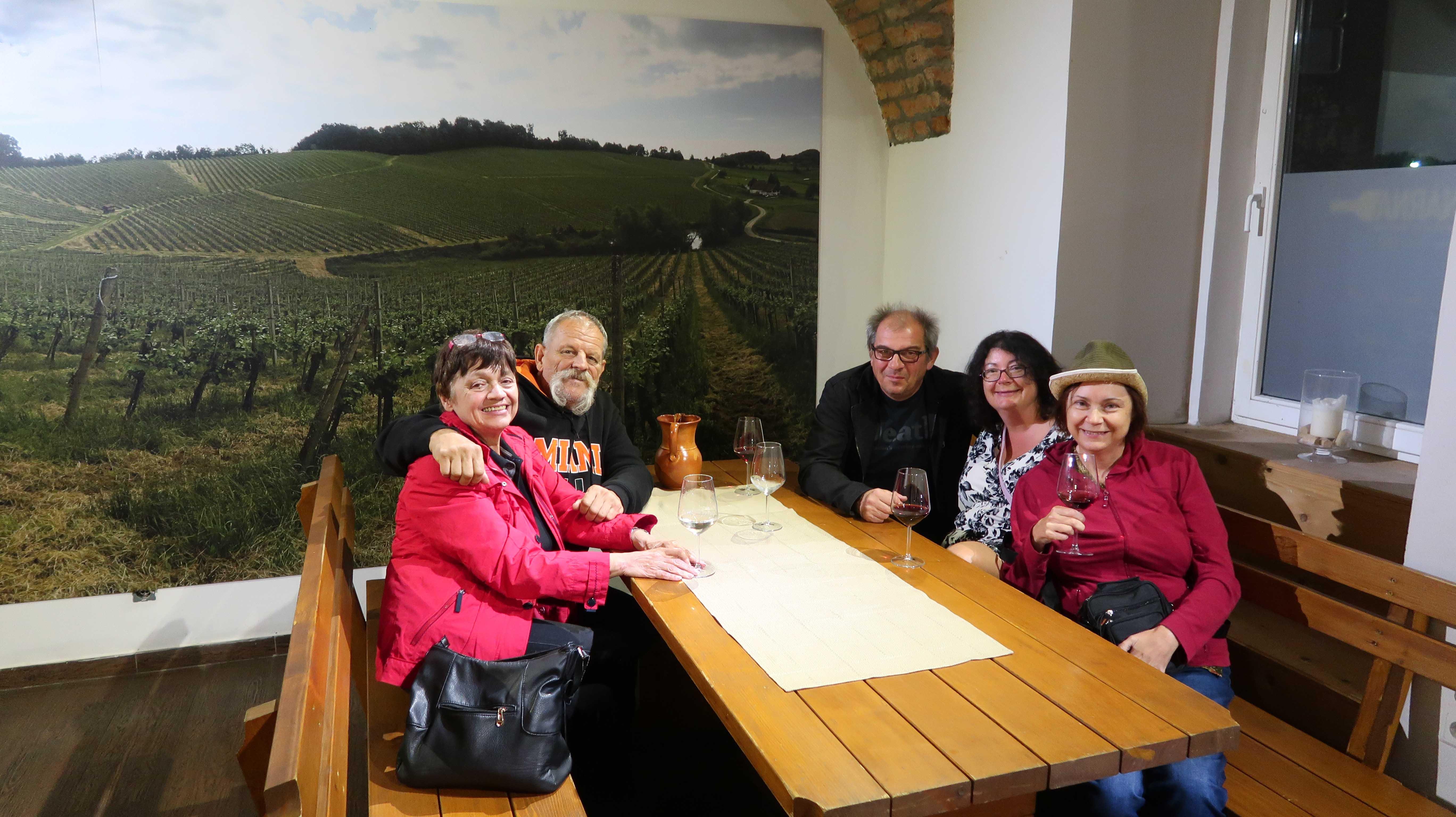 wine tasting, slovenia, vinag